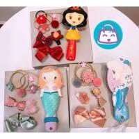 JRP001 Sisir dan Jepit Rambut Set Princess