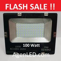 LED SOROT 100W Flood Light Lampu FLOODLIGHT tembak 100 w watt outdoor