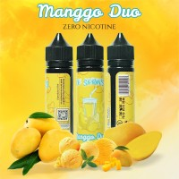 0MG Ice Series - Manggo Duo - 60ML Premium Eliquid Mangga Mango