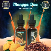 Ice Series - Manggo Duo Salt Nicotine 25mg Liquid S8, Suorin, MTL etc