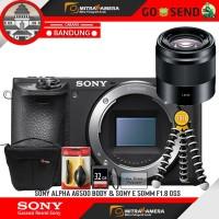 Sony Alpha A6500 Body & Sony E 50mm f1.8 OSS PAKET