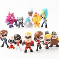 Mainan Anak Action Figure Pajangan The Incredibles Incredible Disney