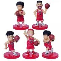 Mainan Anak Action Figure Pajangan Slam Dunk Basketball Shohoku Anime