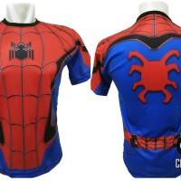 Jual kaos superhero spiderman homecoming / avengers / civil war Murah
