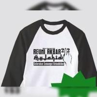 tshirt/kaos/raglan reuni akbar 212