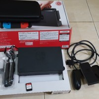 Aksesoris Nintendo Switch Fifa 2018 Pouch Box Dock HDMI Strap