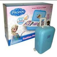 Kado Mainan Anak Perempuan belajar Make Up Frozen Trolley Koper MURAH