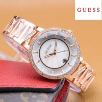Guess Jam Tangan Wanita Rantai Analog / Watch Analog Guess 21