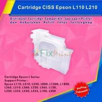 Cartridge CISS Original Epson L Series, Support Printer Epson L120 L22