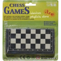 papan catur mini magnet - chess game