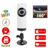 Harga jual ip camera wifi hd 360 eyes panoramic wireless p2p | Hargalu.com