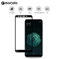 Tempered Glass Mocolo Full Cover Thin Screen Guard HP Xiaomi MiA2 Mi6x