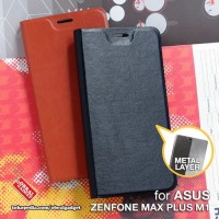 Flip Case Leather Slot Cover Case HP Asus Zenfone Max Plus M1 ZB570TL