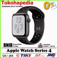 Apple Watch / iWatch NIKE Series 4 44mm Black Grey Sport Band MU7J2