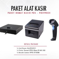 PAKET PRINTER EPPOS EP160II + SCANNER EP1020M + CASH DRAWER 46x42cm