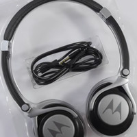 ORIGINAL 100% MOTO PULSE 2 LIGHT HEADPHONES Headset Polytron Evercoss