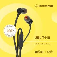 100% Original JBL T110 In-Ear Headphones with Mic - Headset