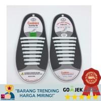 Premium COOLNICE Silicone Shoelace / Tali Sepatu Karet