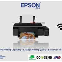 EPSON L805 Photo Ink Tank Wireless Printer Paling lariss