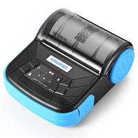 Mini Portable Bluetooth Th al Receipt Printer - MTP-3 - Black