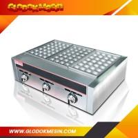 Mesin Takoyaki / Alat Panggangan Takoyaki Gas FOMAC GRL EH877