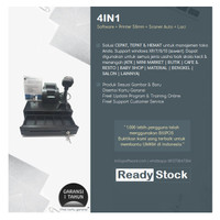 Paket Komputer Kasir Toko Murah 4in1  Software Printer Scanner Laci