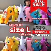 Boneka My Little Pony Size L (Large) Soft Yelvo