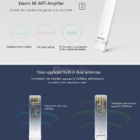 AKSESORIS KOMPUTER Xiaomi Mi WiFi Amplifier 2 White - 2nd Generation