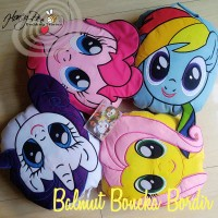 Bantal Selimut Lucu Kuda Poni ( Little Pony ) Rarity - Pinkie Pie