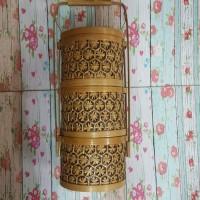 Kerajinan Anyaman Rantang Bambu Batik Unik