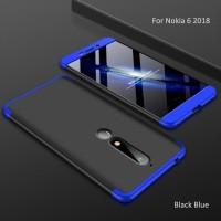 Hardcase Gkk 3in1 Case Plating Slim Cover Casing HP Nokia X6 6.1 Plus