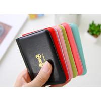 Dompet kartu mini warna warni ribbon import korea lucu murah - HHM111