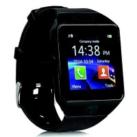 HOT PROMO ONIX COGNOS SMARTWATCH DZ09 - GSM SIM CARD - FULL HITAM -
