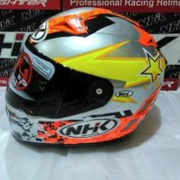 Special Edition Helm NHK Terminator Racing GP Pro D Ring Smoke