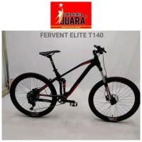 Promo SEPEDA THRILL FERVENT ELITE MTB T140 27.5 ALLOY FULSUS TERBARU