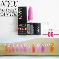 PALING LAKU !!! #Set Makeup Brush ECER - NO 6 MATTE LIPSTICK NYX 717