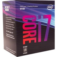 Intel Core i7-8700 6 Cores up to 4.6 GHz LGA 1151 300 Series 95W