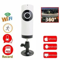 Harga cctv wifi model tabung ip camera cctv 360 degree | Hargalu.com
