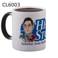 Mug Cangkir Ajaib Custom Logo Atau Disain Anda Sendiri CL6003