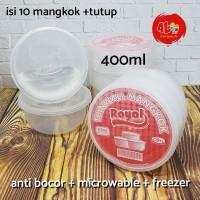 Thinwall Mangkok 400ml tempat cup plastik puding jelly sayur kuah
