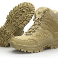 "Sepatu Original Rafale 8"" Sahara Tactical Military Boots USA - FREE"