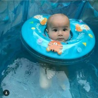 Kolam Spa Bayi Baby Sugar Baby 90x80 cm Biru Baby Swimming Pool Biue