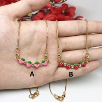 Kalung Anak Strawberry Xuping Lapis Emas - BN174
