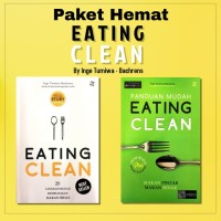 Buku EATING CLEAN Karya Inge Tumiwa