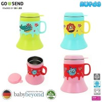 Baby Beyond Cup with Handle Cangkir Minum Anak Stainless Steel