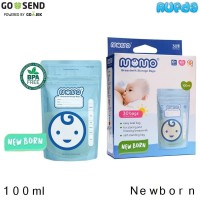 Momo Newborn Kantong ASI - Breastmilk Storage Bags 100ml / 3oz