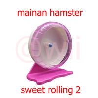 Mainan Roda Joging Wheel Puteran Kincir Hamster sweet rolling 2