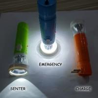 Senter Multifungsi Kera Sakti KS-004 / Senter Cas + Emergency + Charge