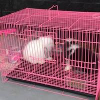 Kandang lipat besi kucing kelinci Sugar glider Size M