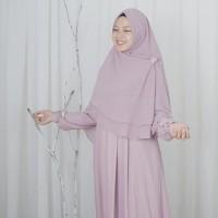 hijab alila gamis neo alexandria soft purple ceruti new qisara furing